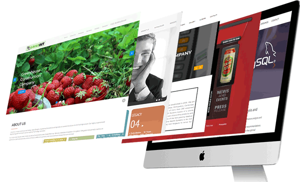 Creative web design portfolio